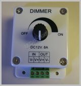 PWM Dimmer 12 volt Knob Controlled SKU518