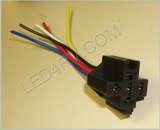 Relay plug for 5 pin Relay SKU558