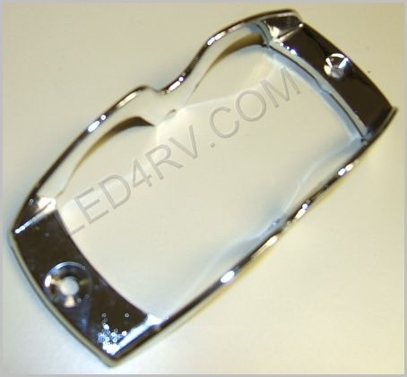 Classic Chrome Light Guard Metal SKU422 - Click Image to Close