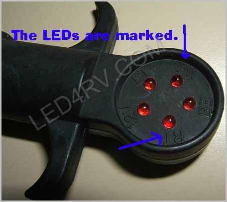5 Round Light Tester SKU365