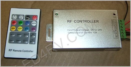 Wireless RF Color Controller and Dimmer SKU294