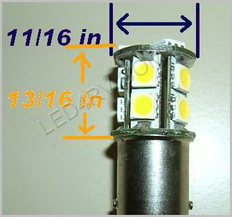 1142 Bright White 13 SMD Cluster LED SKU580