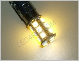 1142 Warm White 18 SMD Cluster LED SKU583 - Click Image to Close