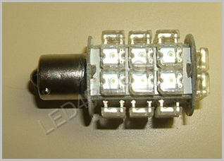 1156 28 LED Warm White Cluster light SKU587