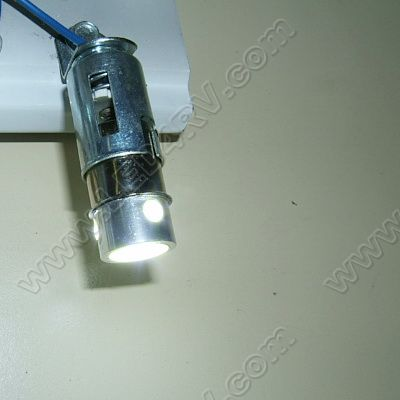 4 LED 1.2 Watt replacement for 67 bulb Bright White SKU588