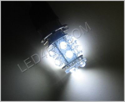 1156 Bright White 13 Round LED Cluster Light SKU589 - Click Image to Close