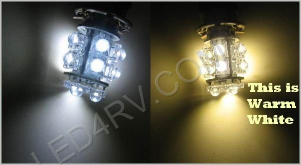 1156 Warm White 13 Round LED Cluster Light SKU590 - Click Image to Close