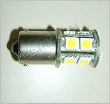1156 Bright White 13 SMD LED Cluster Light SKU594