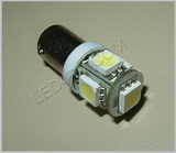 57 Bright White 5 LED Cluster Bulb SKU104