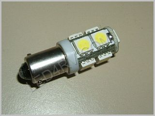 57 Bright White 9 LED Cluster Bulb SKU105