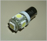 57 Warm White 5 LED Cluster Bulb SKU106