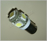 Bax9s socket LED in Warm White SKU111