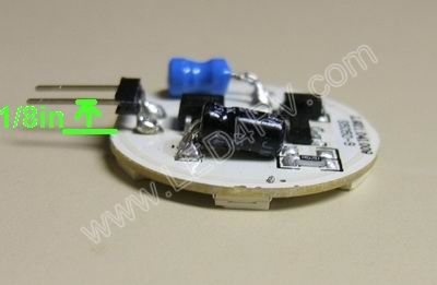 12 LED Warm White Chip at 3-3500 kTemp SKU124