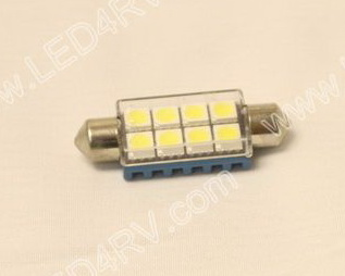 Festoon 8 LED Bright White SKU2280