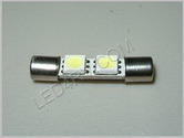Bright White Festoon Fuse Style Courtesy Light F2BW28mm SKU182
