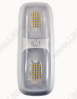 96 Bright White LEDs Double Dome Light SKU1636