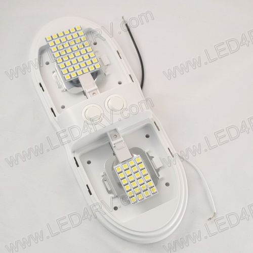 Interior 72BrightWhite LED Double Dome Light with Switch SKU1931