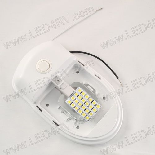 Interior 24 Bright White LED Dome Light with Switch SKU1933