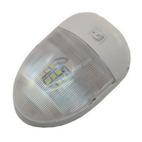 Warm White LED Single Pan Cake Dome Light SKU247