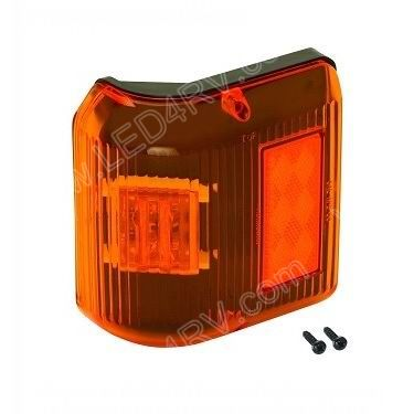 Bargman 86 Series Amber LED Wrap Marker Light sku2257 - Click Image to Close