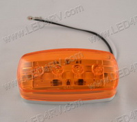58 Series Amber LED Side Marker Clearance Light SKU1949