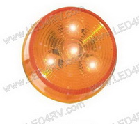 2 Inch Round LED Yellow Marker Light SKU461