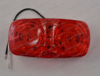6 Red LED Sealed Bullseye Running Light SKU2012