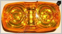 13 Amber LED Sealed Bullseye Running Light SKU235
