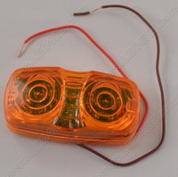 Amber 13 LED Running and Turn Marker Light SKU1233
