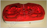Double Bullseye Red Marker Light LT506R SKU260