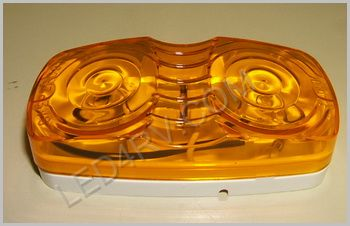 Double Bullseye Amber Marker Light LT506Y SKU261