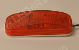 6 Diode Red LED Running or Marker Light SKU446