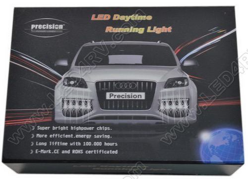 Bright White LED Day Time Running Lights DtRun1 SKU162