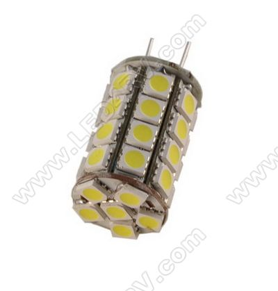 G6 LED Replacement with 34 Bright White 5050 LEDs SKU198 - Click Image to Close