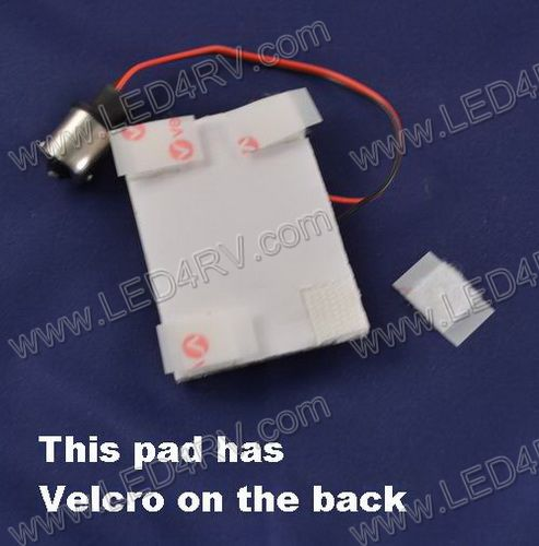 Large Bright White Pad with 42 LEDs SKU511 - Click Image to Close