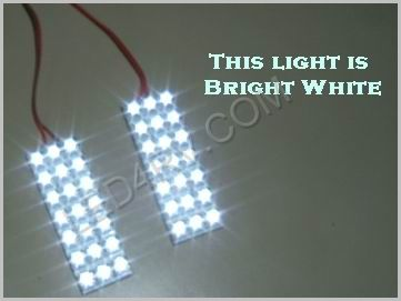 1156 Socket with 42 Bright White LEDs on 2 Pads 1156Px2BW SKU513