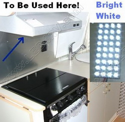 LED Bright White Multi Purpose Pad SKU276