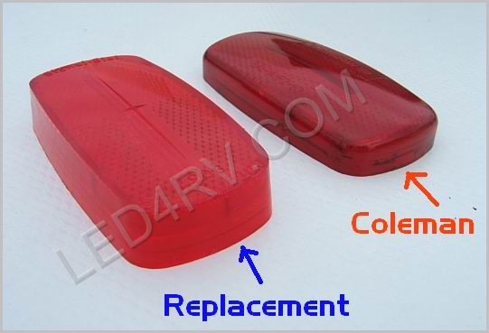 Truck-Lite Red Replacement Lens 9057 SKU572