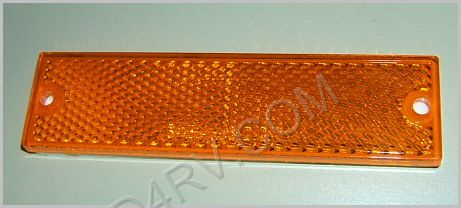 Thin Amber Reflector LT204Y SKU389
