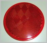 Red 3-3/16 in Round Reflector LT210R SKU254
