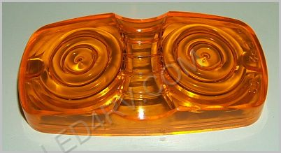 Amber Bullseye Replacement Lens LT910Y SKU265