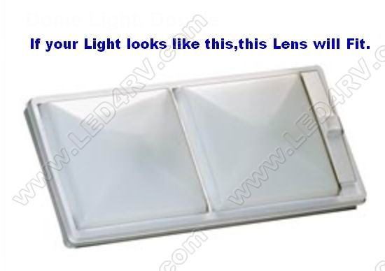 Off-White Optic Lens for Arcon and Pro Dynamics Lights SKU1394