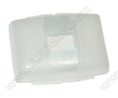 Replacement lens for Double Low Profile Dome Light. SKU984