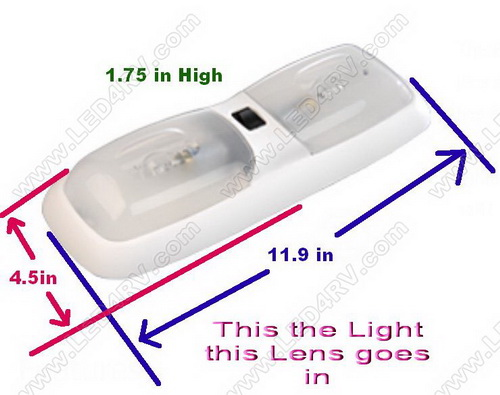 Replacement Optic Lens for PD780 Series Light. SKU1600
