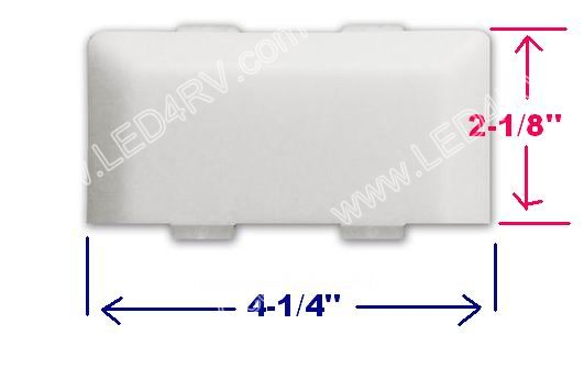 Lens For Exterior old style Bargman Grab Bar SKU1823