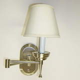 High quality 12 volt Brushed Nickel Wall Sconces Light SKU306