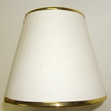 Lamp shade with gold trim for Wall Sconces Light SH10 SKU307