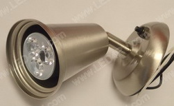Warm White Brushed Nickel Reading Light sku2276