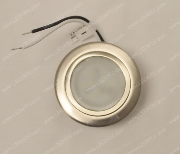 Bright White LED Brushed Nickel Down Light SKU2302