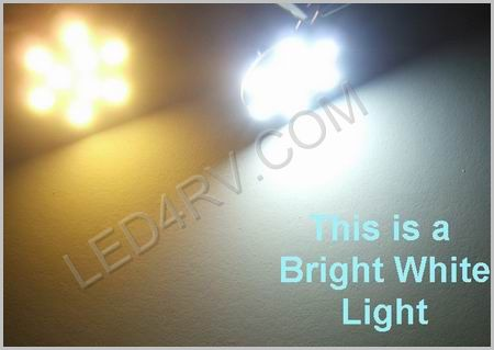 Bright White LED Puck or Surface Mount LightSKU533